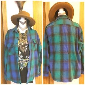 •Vintage 90s Dakota by Five Brothers Flannel•
